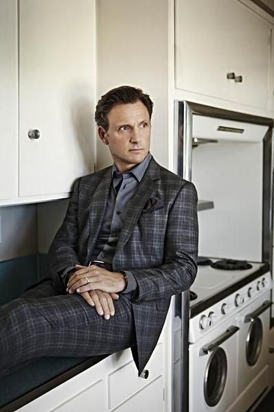 Scandal's Tony Goldwyn models the new power suit.