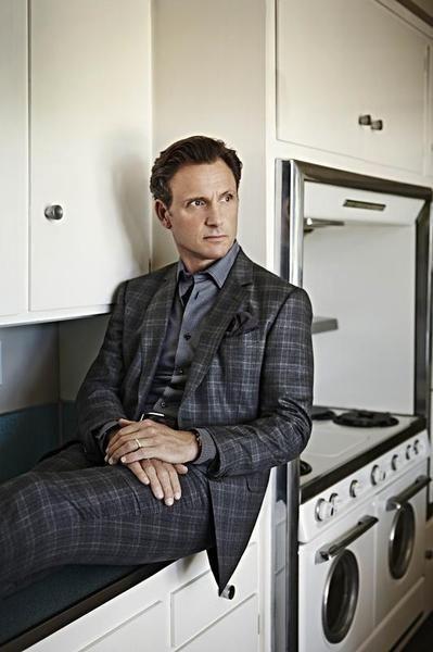 Scandal's Tony Goldwyn models the new power suit.