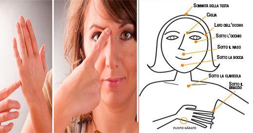 Sapevi che toccando alcuni punti di energia del tuo corpo puoi alleviare lo…
