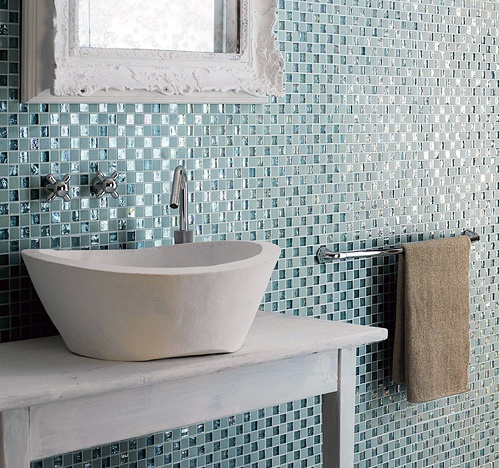 83 best images about Glass Tile on PinterestMosaics Kitchen