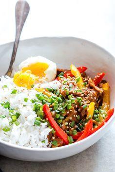 Easy Slow Cooker Korean Pork Bulgogi