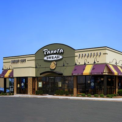 America's Healthiest Fast Food Restaurants - Panera Bread  Panera also won top honors for kid fare, dishing out RD-approved crowd-pleasers like squeezable organic yogurt, PB (with all-natural peanut butter), and grilled organic cheese on white whole-grain bread.    We love: Delicious, nutrient-packed combos like a half–Turkey Artichoke on focaccia bread with a bowl of black bean or garden vegetable soup.  Danger zone: Sticky buns and cheese danishes are on display at the counter.