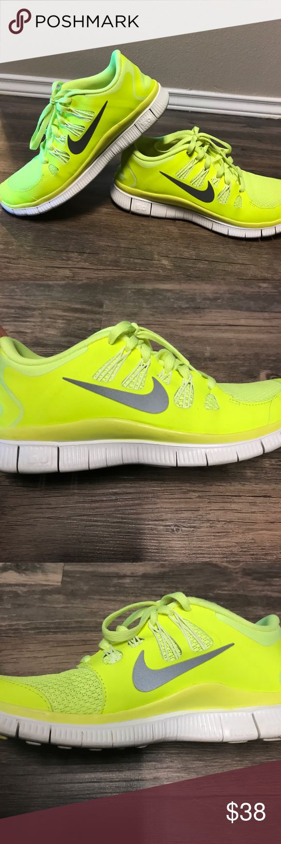 Perfect 40 Off Nike Shoes  Neon LowTop Nikes Women39s 12 Men39s 105 From