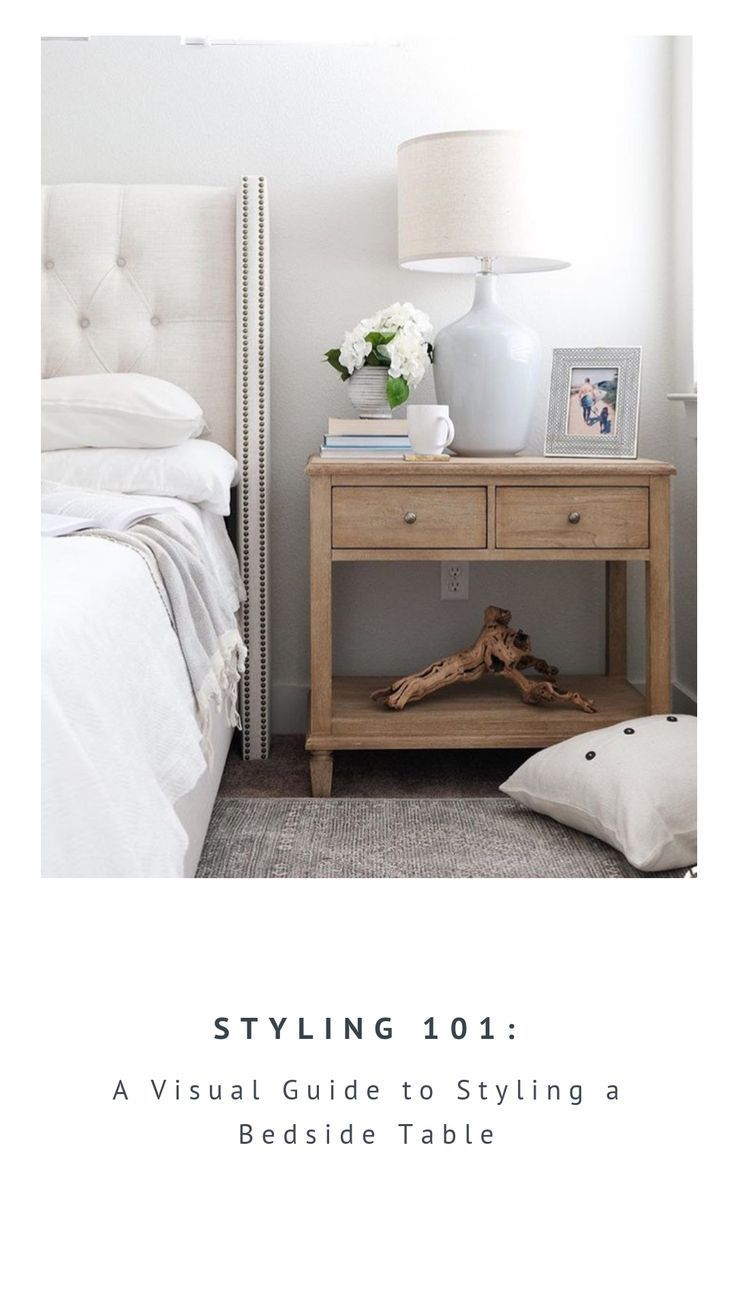 Styling 101 Bedside Table Bedroom Night Stands Bedroom