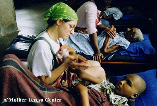 Missionaries of Charity volunteer opportunity in India.  Transformative, I am sure.  You just show up and help (this is not sevice tourism!)