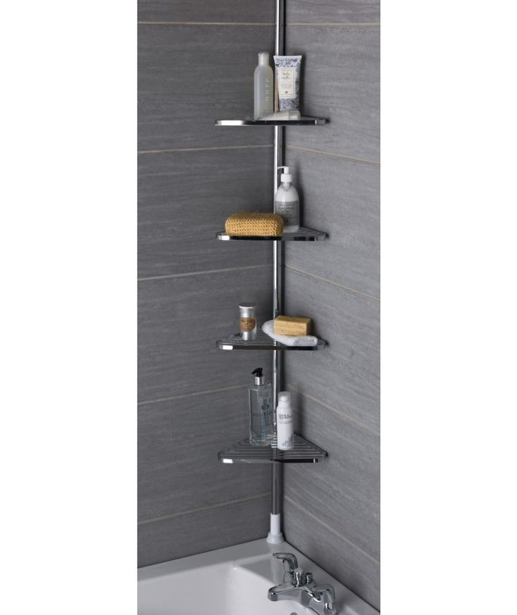 Photo Image Buy Chrome Shower Organiser Unit at Argos co uk Your Online Shop for