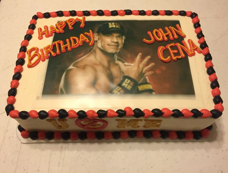 John Cena Cake Buttercreams Cakes For Every Occasion