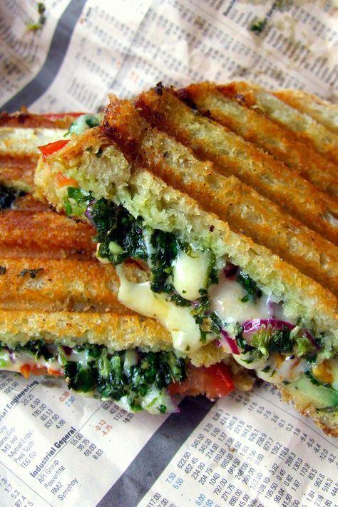 Mumbai Curry Sandwich