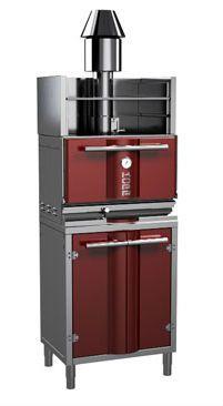 Φούρνοι κάρβουνου kopa charcoal oven με ντουλάπι και θερμαινόμενο ράφι φούρνος κάρβουνου τηλ 6936112276