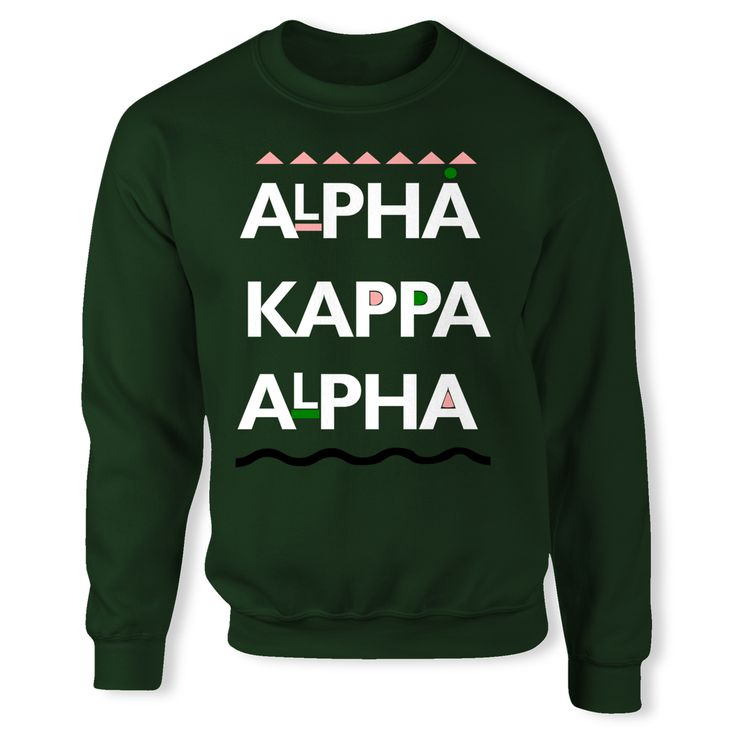 Martin Inspired Alpha Kappa Alpha Sorority Incorporated UNISEX Crewneck