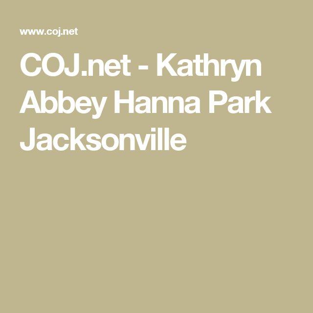 COJ.net - Kathryn Abbey Hanna Park Jacksonville