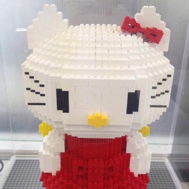 479 best legos images on pinterest lego legos and lego - Lego hello kitty maison ...