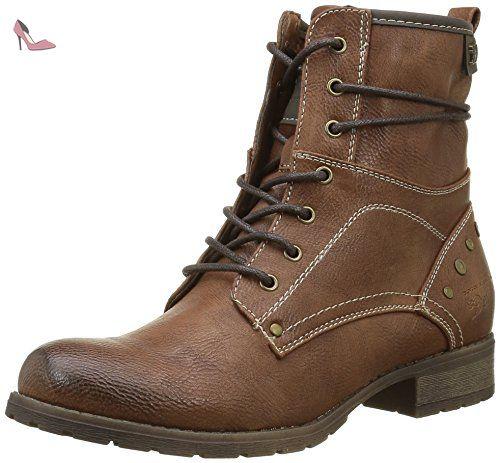 Tom Tailor 1697303, Bottes Classiques Femmes, Marron (Cognac), 39 EU - Chaussures tom tailor (*Partner-Link)