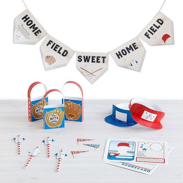 Printable Party Kit - Grand Slam Baseball Party