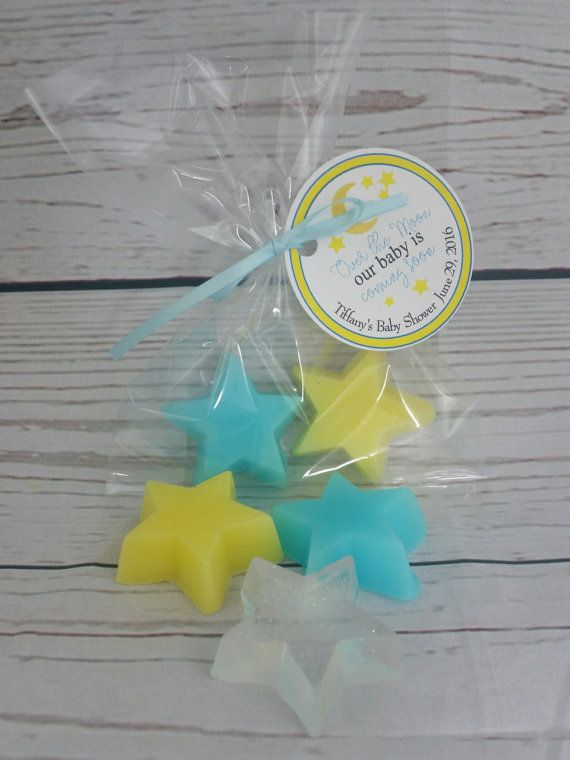 Star Baby Shower Soap Party Favors  by AmysBubblingBoutique