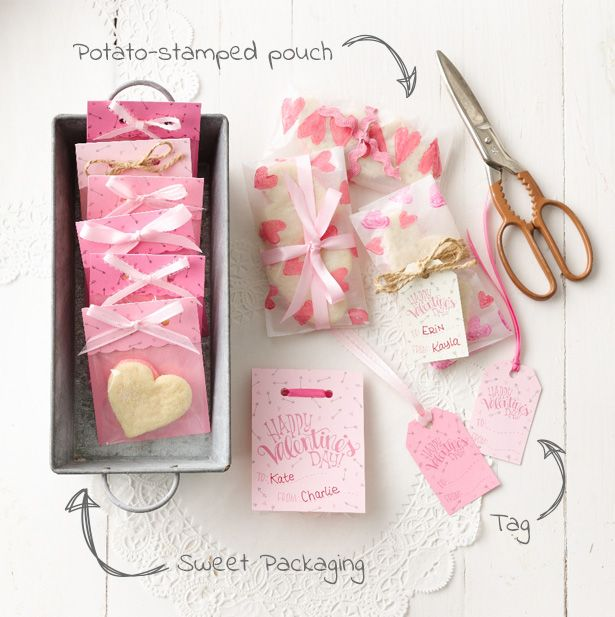 Betty Exclusive: Valentine's Day Cookie Packaging: Printables + Tutorial