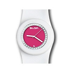 White and Pink Slap Watch for R450.00