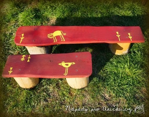 Lavička pro děti - Child bench