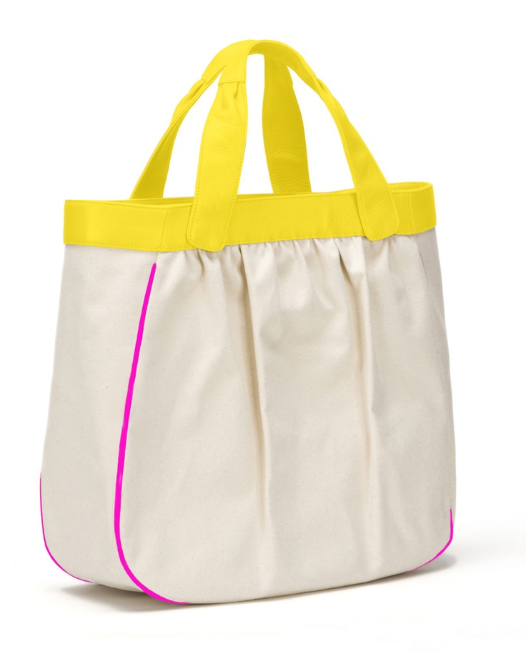 Colour Blocked Madison Tote by Mary Nichols