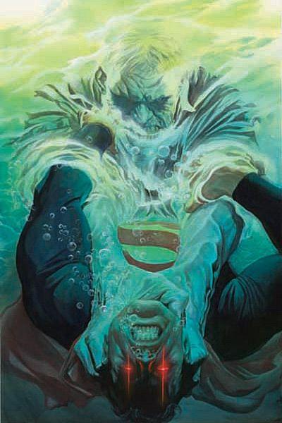 Superman vs Solomon Grundy by Alex Ross