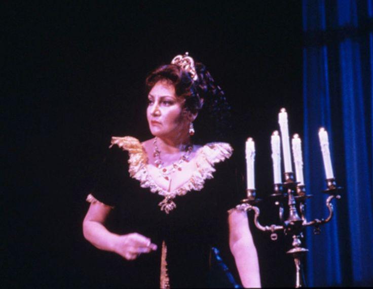 Great Romanian soprano Maria Slatinaru Nistor -Tosca- San Francisco Opera  1985