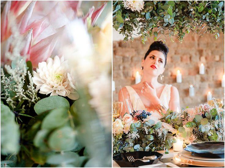 #styledshoot  Die Kaapse Flora en Europese mode geïnspireerde gestileerde fotosessie   Mooi Troues