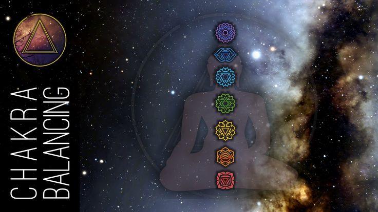 #Chakra Meditation ☯ 1 ora di meditazione per riequilibrare i 7 Chakra