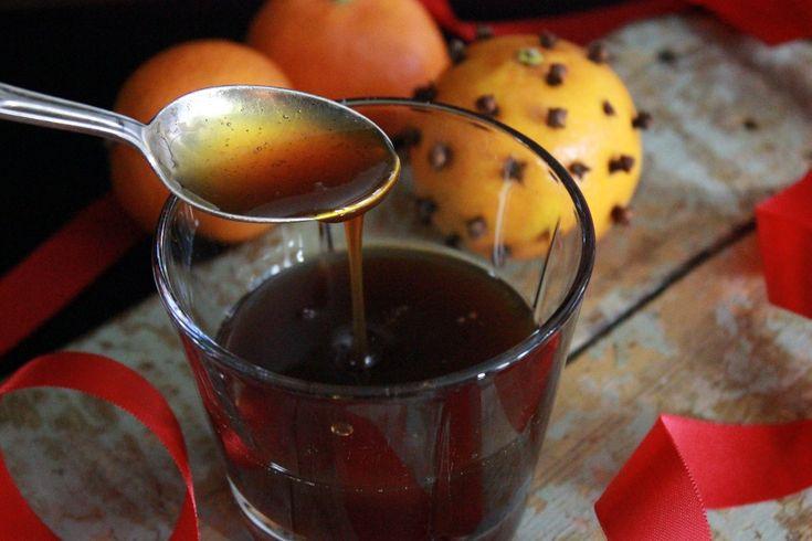 Appelsin- og ingefærsirup til julepavlova