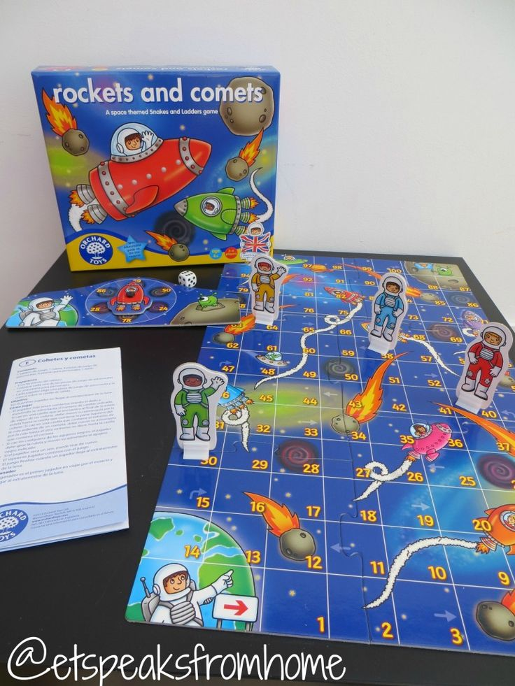 Orchard Toy Rockets and Comets Review - ET Speaks From Home