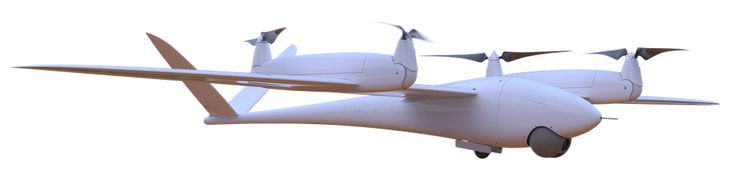Quantom Tron drone for precision agriculture, inspection and 3D reconstruction