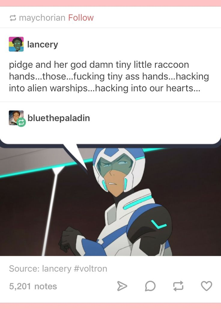I do not ship pidge and Lance WHATSOEVER but I mean he would be this petty