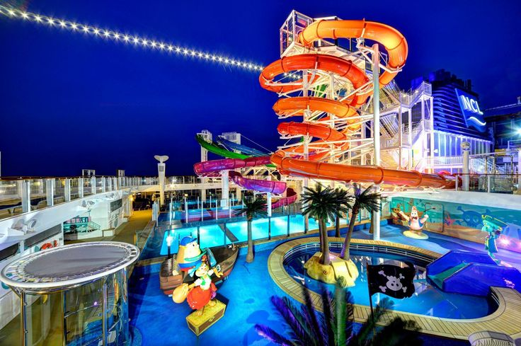 Norwegian Getaway- one of my favourite ships and very highly recommended!