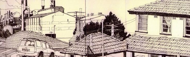 Detail Wentworth Street Port Kembla by Kathryn Orton