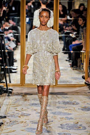 Oscar de la Renta Iron Lady Trend - Runway Fall Fashion Trends 2012 - Harper's BAZAAR