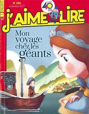 """INFANTIL/JUVENIL. """"J'aime lire"""" Revista en francés mensual para niños entre 4 y 7 años. Una gran historia para leer y escuchar, citas con personajes entrañables, juegos."""