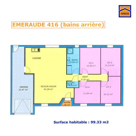 1000 ideas about plan maison plein pied on pinterest for Plan maison 80m2 plein pied
