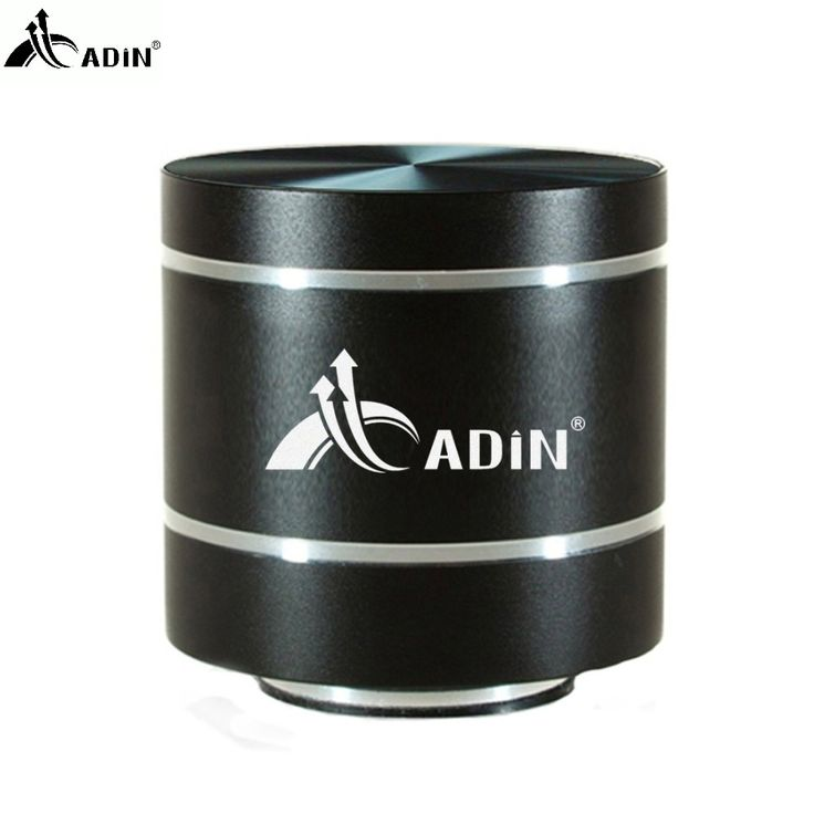 31.65$  Buy here - 2017 ADIN HIFI Metal Vibration Speaker Mini Portable 5W Intelligent Remote Subwoofer Small Speakers TF Bass FM Radio Speakers  #buyininternet