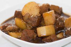 Sauté de veau et pommes de terre au thermomix. Voici une délicieuse recette de Sauté de veau et pommes de terre, facile et rapide a réaliser