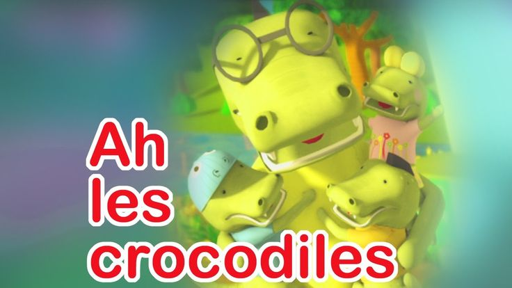 CHANSON | Ah les crocos - les paroles, un clip vidéo avec des personnages absolument craquants et une histoire émouvante !