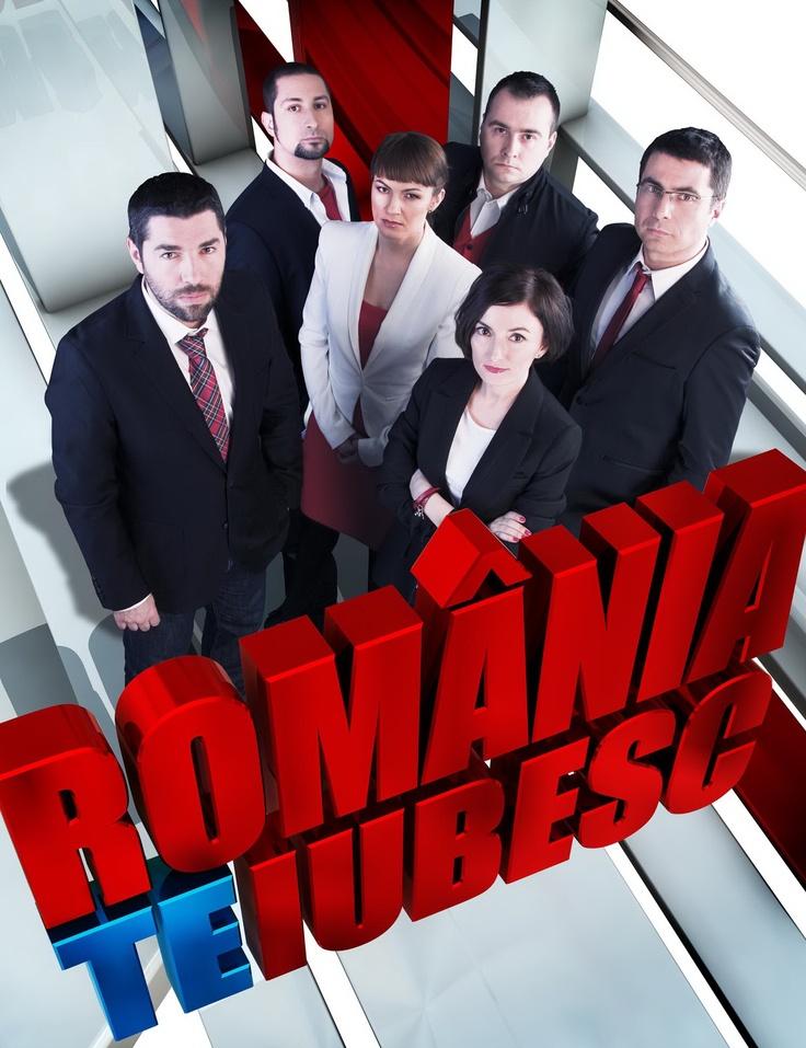 "Echipa ""Romania, te iubesc"" in 2010."
