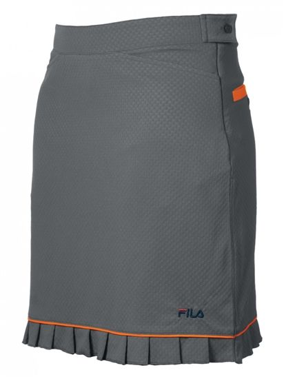 Shop the largest selection of FILA Golf Skorts including the FILA Malaga Golf Skort in Silver/Atomic Orange