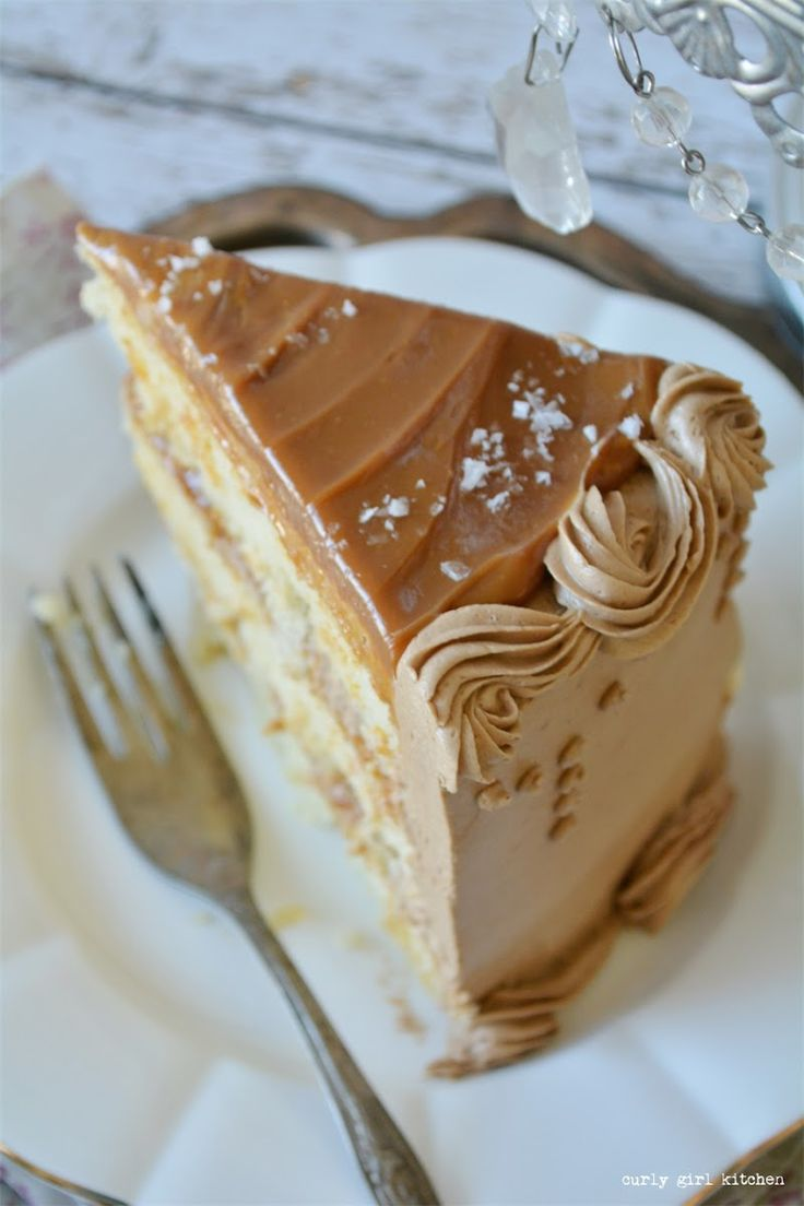 Curly Girl Kitchen: Caramel Cappuccino Cake