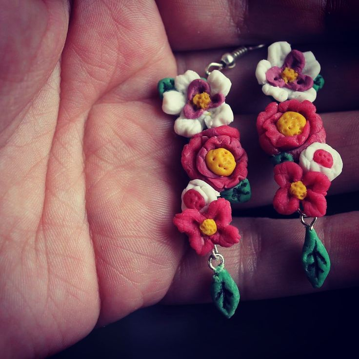 Aritos de flores
