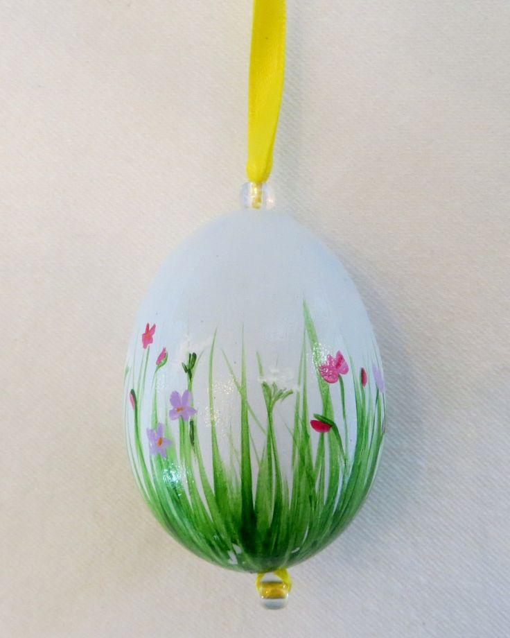Hand-painted Easter Egg Ornament. $24.95, via Etsy.