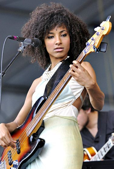 Esperanza Spalding's natural curly do