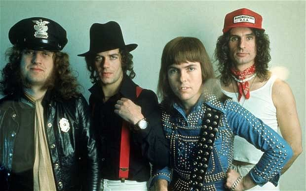 Slade  one of the funniest bands ,,,You can even dance to a Christmas song gotta love it