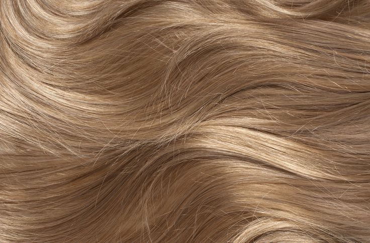 blonde hair close up