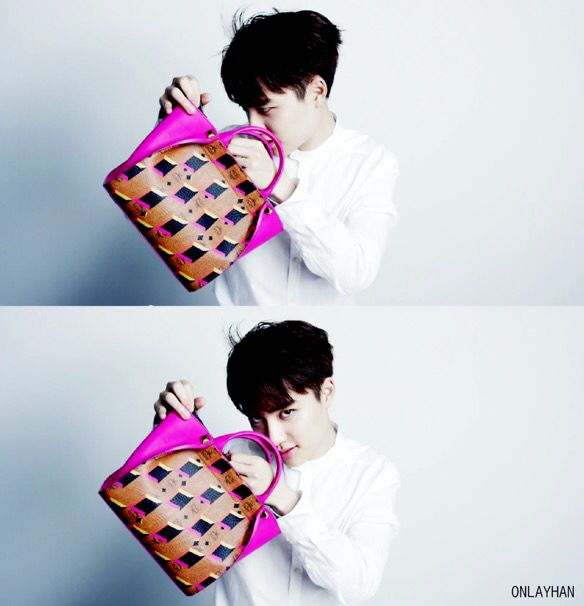 xoxo mcm happy valentine's day with exo