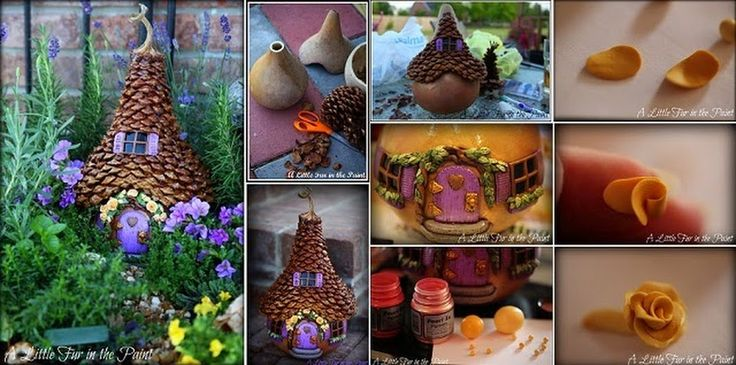 The Fairy House  See more here -> http://www.goodshomedesign.com/the-fairy-house/ - Home Design - Google+