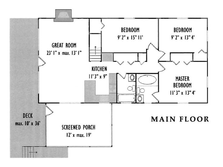 51 best images about family room addition plans on for Add on house plans
